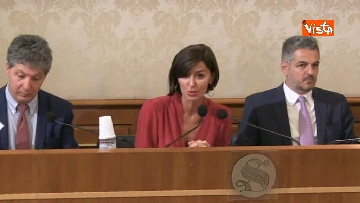 2 - Bernini in conferenza stampa sul dl terremoto