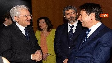 2 - Mattarella, Conte, Casellati e Fico ad Assemblea Confindustria