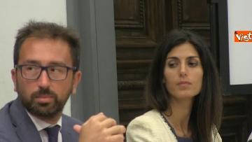 6 - Bonafede e Raggi a presentazione progetto riabilitazione detenuti a Roma