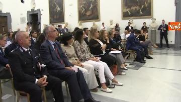 1 - Bonafede e Raggi a presentazione progetto riabilitazione detenuti a Roma