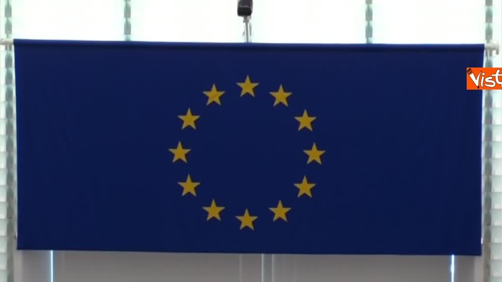 11-09-18 Tsipras al Parlamento Ue per lo State of Union, il dibattito in aula, immagini 10