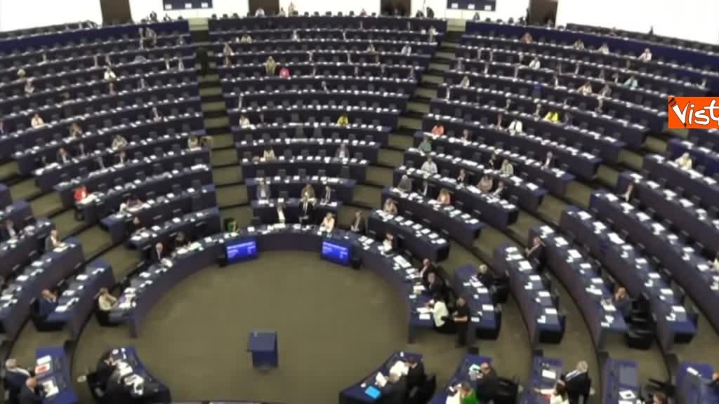 11-09-18 Tsipras al Parlamento Ue per lo State of Union, il dibattito in aula, immagini 03