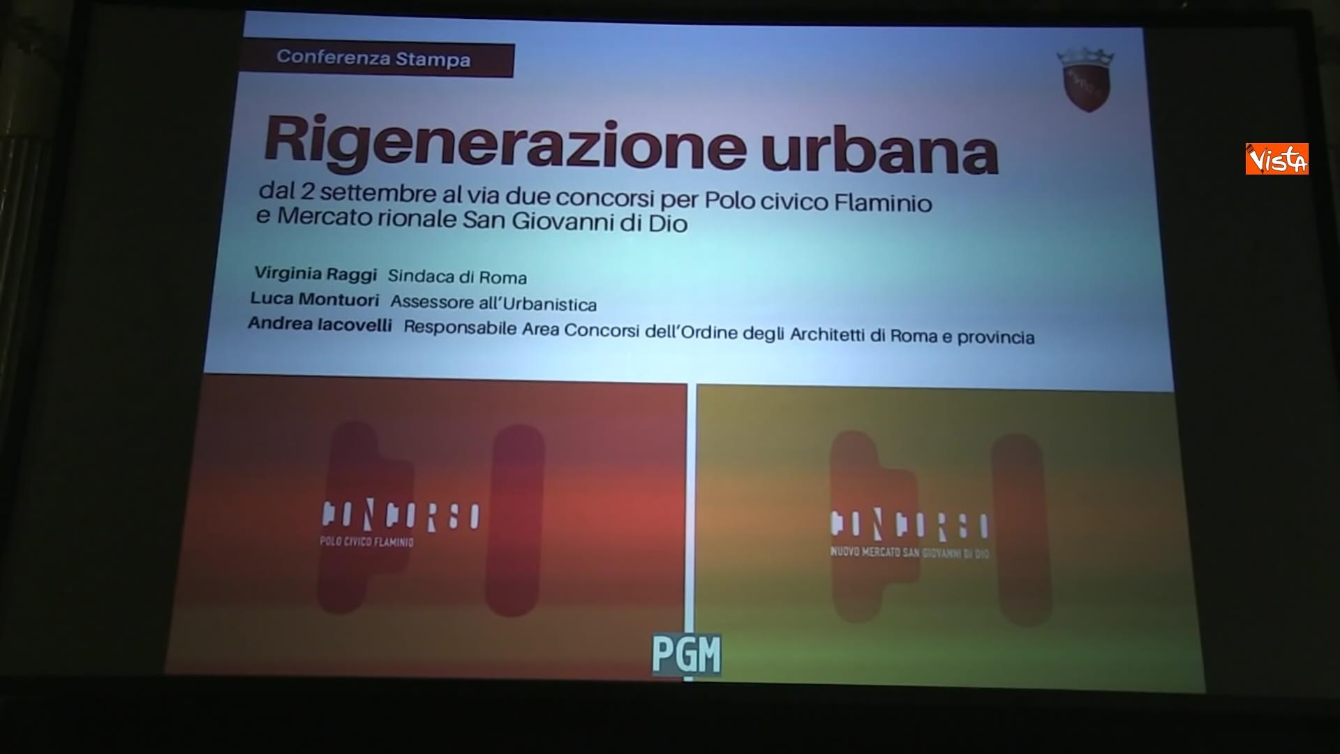 27-08-20 Al via concorsi per rigenerazione urbana a Roma, la presentazione con la Raggi_08