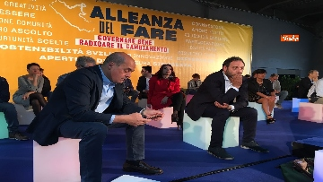 6 - Zingaretti lancia l Alleanza del fare in vista delle amministrative del 10 giugno