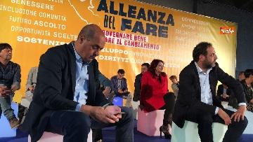 9 - Zingaretti lancia l Alleanza del fare in vista delle amministrative del 10 giugno