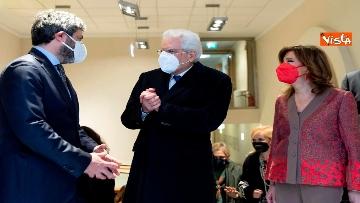 5 - Giorno del Ricordo Mattarella con Casellati e Fico alla cerimonia a Montecitorio