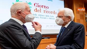 4 - Giorno del Ricordo Mattarella con Casellati e Fico alla cerimonia a Montecitorio