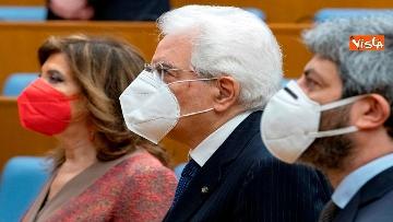 7 - Giorno del Ricordo Mattarella con Casellati e Fico alla cerimonia a Montecitorio