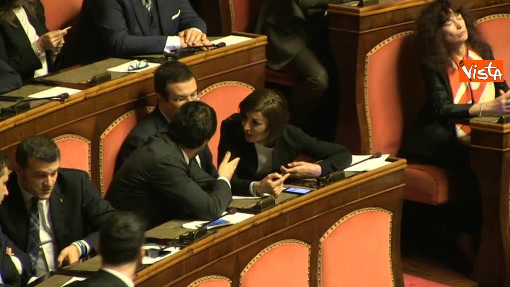 24-03-18 Bernini lancia un bacio a Salvini dopo un breve incontro 01_265168593767624780421