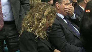 3 - Salvini con i capigruppo Romeo e Molinari in conferenza stampa immagini