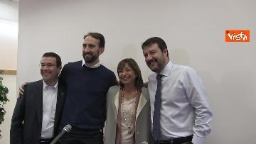 4 - 28-10-19 Salvini e Tesei in conferenza il giorno dopo il voto in Umbria