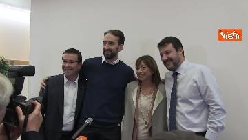 2 - 28-10-19 Salvini e Tesei in conferenza il giorno dopo il voto in Umbria
