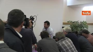 1 - 28-10-19 Salvini e Tesei in conferenza il giorno dopo il voto in Umbria