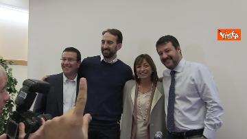 3 - 28-10-19 Salvini e Tesei in conferenza il giorno dopo il voto in Umbria