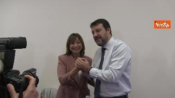 7 - 28-10-19 Salvini e Tesei in conferenza il giorno dopo il voto in Umbria