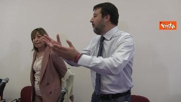 5 - 28-10-19 Salvini e Tesei in conferenza il giorno dopo il voto in Umbria