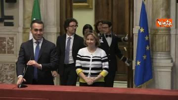 1 - 24-05-18 Consultazioni, la delegazione M5s con Di Maio, Toninelli e Giulia Grillo