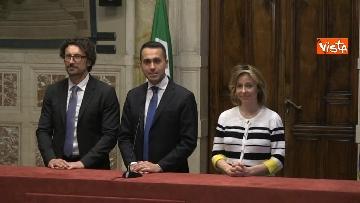 4 - 24-05-18 Consultazioni, la delegazione M5s con Di Maio, Toninelli e Giulia Grillo