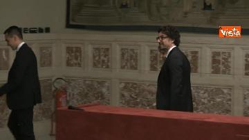 9 - 24-05-18 Consultazioni, la delegazione M5s con Di Maio, Toninelli e Giulia Grillo