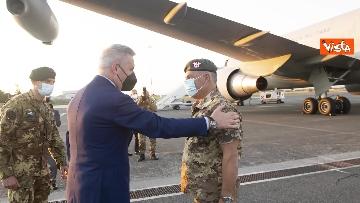 1 - Fine missione italiana in Afghanistan, ecco gli ultimi militari che atterrano a Ciampino