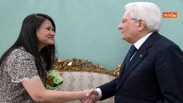 8 - Italia-Cina, Mattarella incontra ambasciatore cinese in Italia Li Junhua