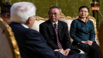 5 - Italia-Cina, Mattarella incontra ambasciatore cinese in Italia Li Junhua