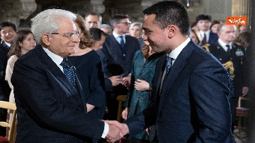 4 - Italia-Cina, Mattarella incontra ambasciatore cinese in Italia Li Junhua