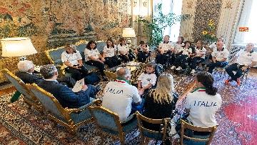 3 - Mattarella incontra al Quirinale l'Associazione Sod Italia