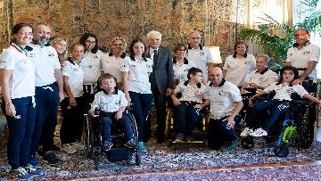 4 - Mattarella incontra al Quirinale l'Associazione Sod Italia