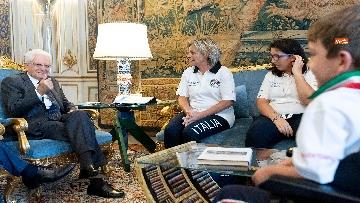 2 - Mattarella incontra al Quirinale l'Associazione Sod Italia