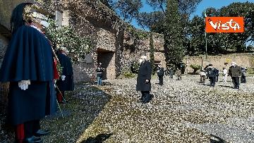 4 - Mattarella rende omaggio alle vittime delle Fosse Ardeatine