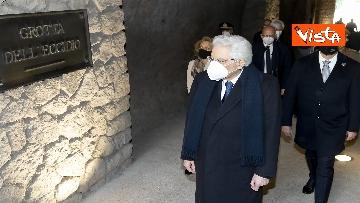 6 - Mattarella rende omaggio alle vittime delle Fosse Ardeatine