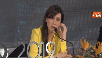 5 - Sanremo 2019, i conduttori del Festival in conferenza stampa dopo la seconda serata