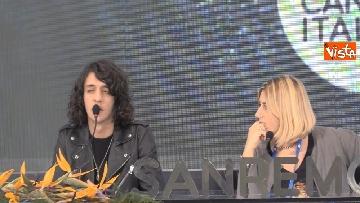 2 - La conferenza stampa di Motta al Teatro Ariston di Sanremo