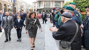 2 - 25 aprile, Casellati a Padova per le celebrazioni della Festa della Liberazione