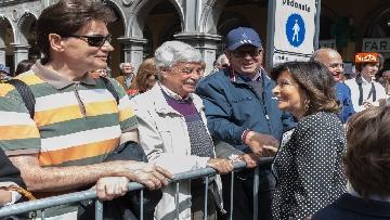 1 - 25 aprile, Casellati a Padova per le celebrazioni della Festa della Liberazione