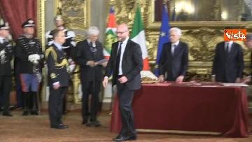 2 - Il giuramento di Fontana, Ministro della Famiglia