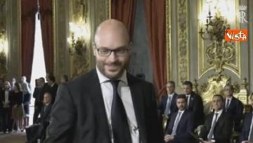 4 - Il giuramento di Fontana, Ministro della Famiglia
