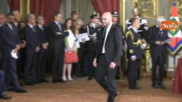 3 - Il giuramento di Fontana, Ministro della Famiglia