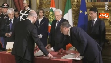5 - Il giuramento di Fontana, Ministro della Famiglia