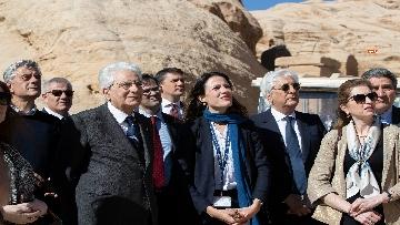 4 - Il Presidente Mattarella visita il Sito Archeologico di Petra