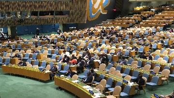 5 - 26-09-18 Onu, 73esima Assemblea generale immagini dibattito