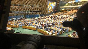 8 - 26-09-18 Onu, 73esima Assemblea generale immagini dibattito