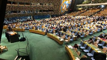 6 - 26-09-18 Onu, 73esima Assemblea generale immagini dibattito