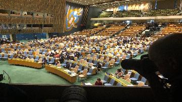 7 - 26-09-18 Onu, 73esima Assemblea generale immagini dibattito