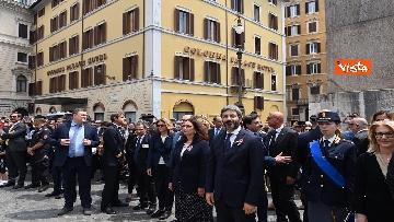 1 - La Fanfara della Polizia a Montecitorio Porte Aperte