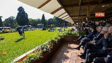 3 - Mattarella al concorso ippico 'Coppa delle Nazioni'