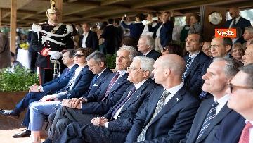 9 - Mattarella al concorso ippico 'Coppa delle Nazioni'