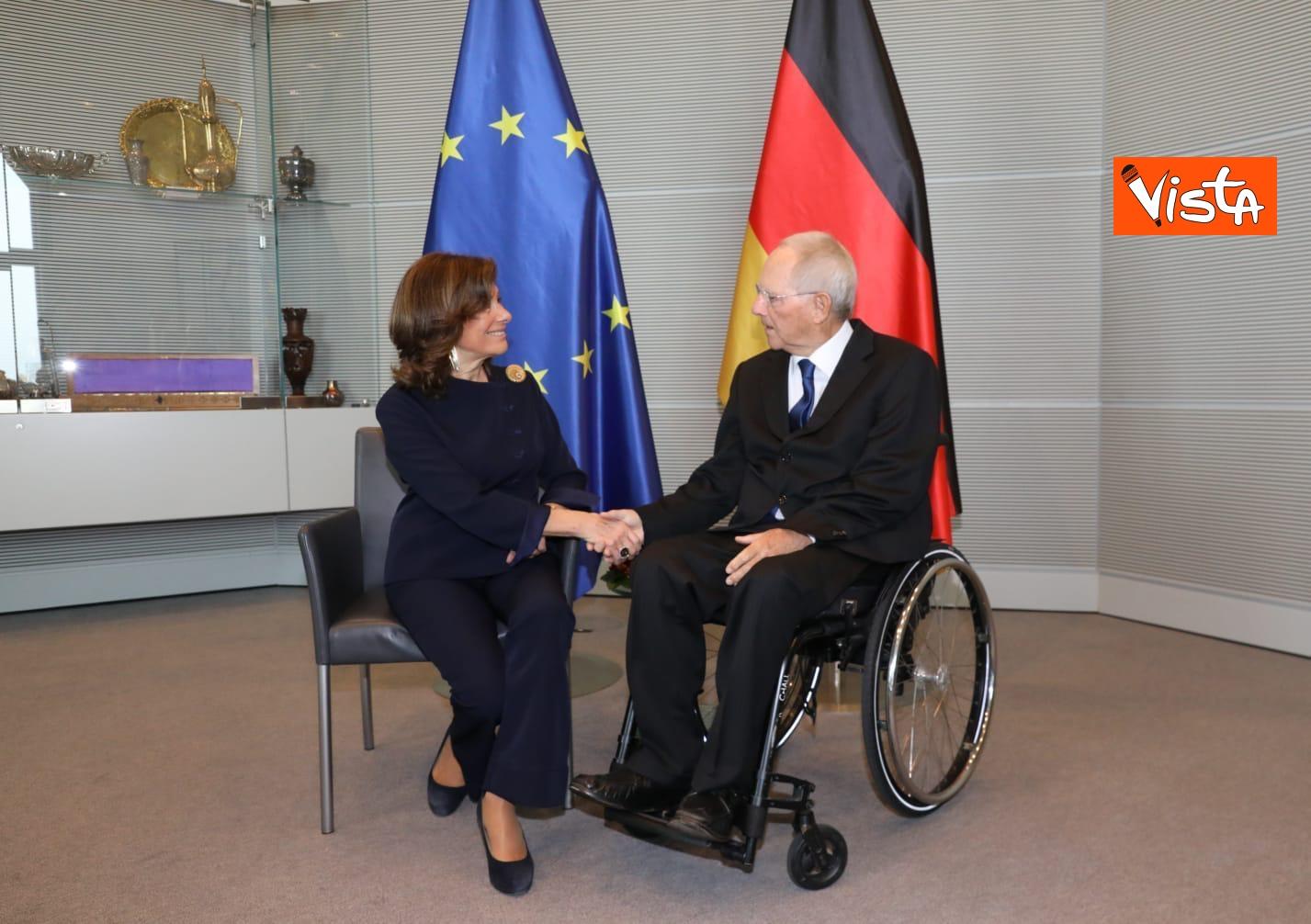 Casellati incontra il presidente del Bundestag Schauble a Berlino_05