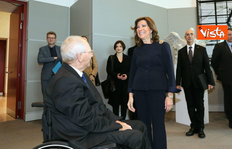 Casellati incontra il presidente del Bundestag Schauble a Berlino_06
